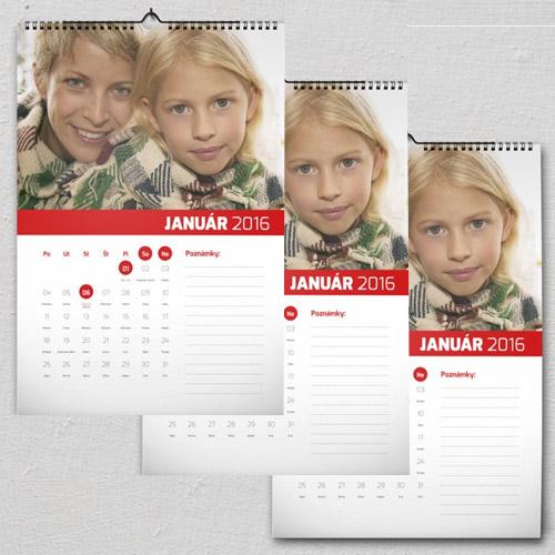 Kalendár A4 2+1 zadarmo