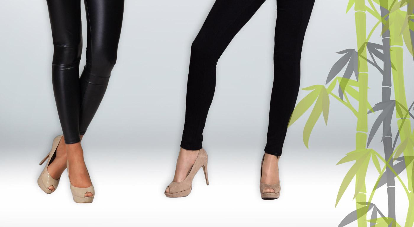 Bambusové termo legíny alebo nohavice