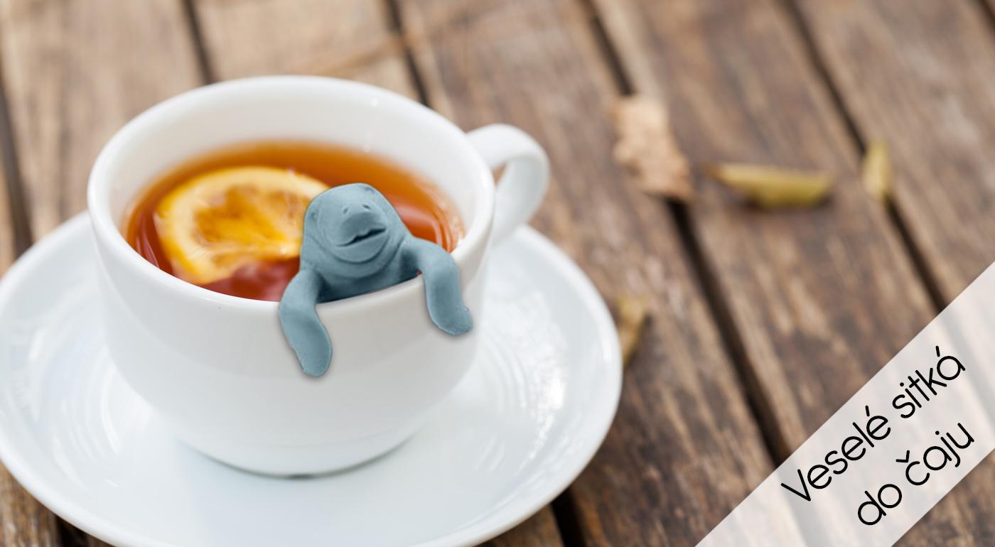 Rozkošné sitká na čaj s jedinečným dizajnom
