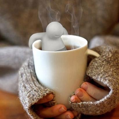 Sitko na čaj - panáčik