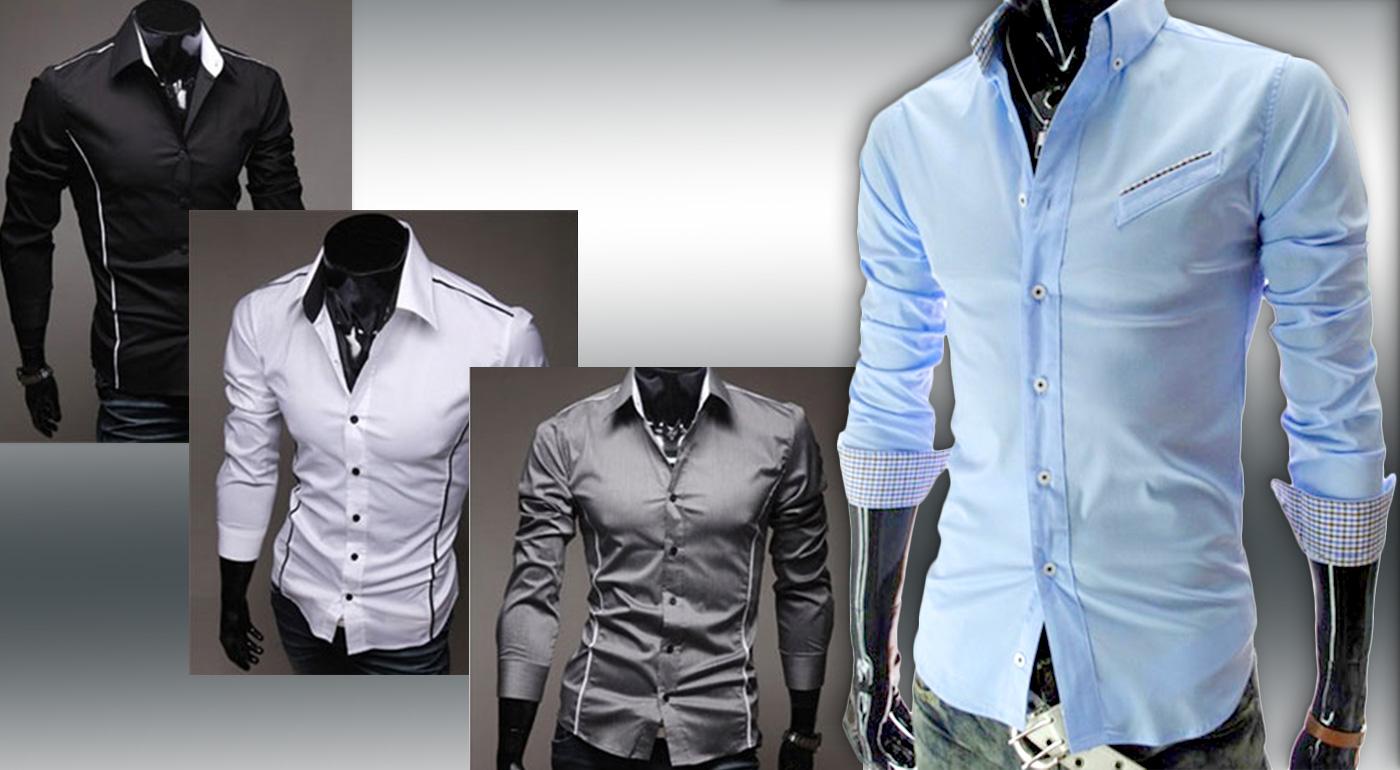 Trendy slim-fit košeľa pre pánov