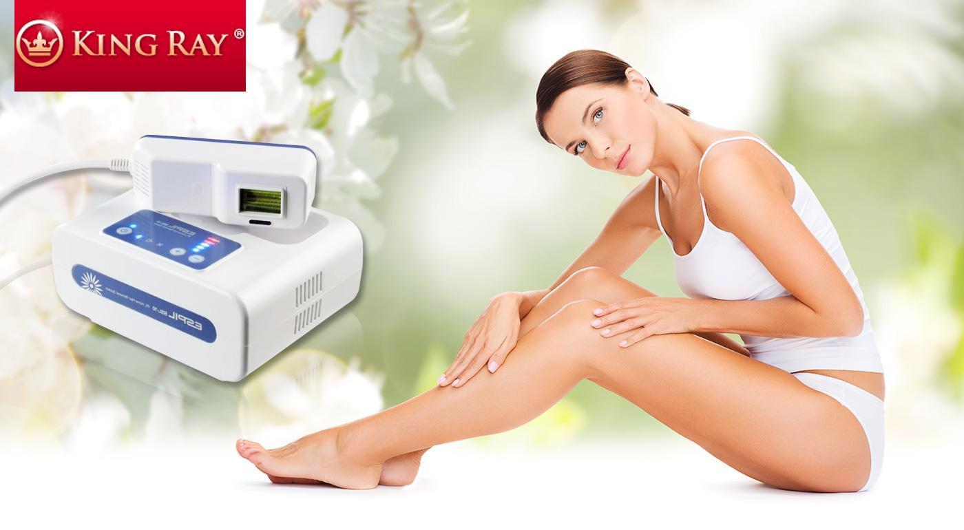 Prístroj na trvalú depiláciu založený na IPL svetle vhodný na domáce používanie i do kozmetických salónov