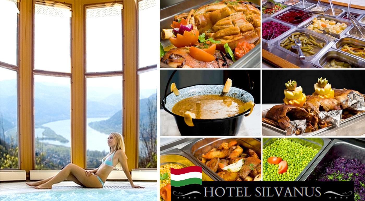All inclusive služby v luxusnom Hoteli Silvanus**** v Maďarsku - neobmedzená konzumácia jedla, nápojov a vstup do wellness