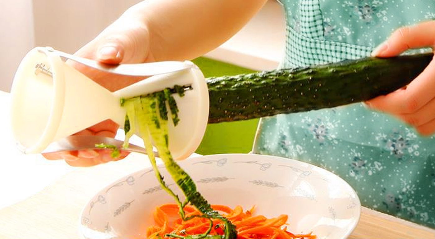 Špirálový krájač na zeleninu ako od profesionála
