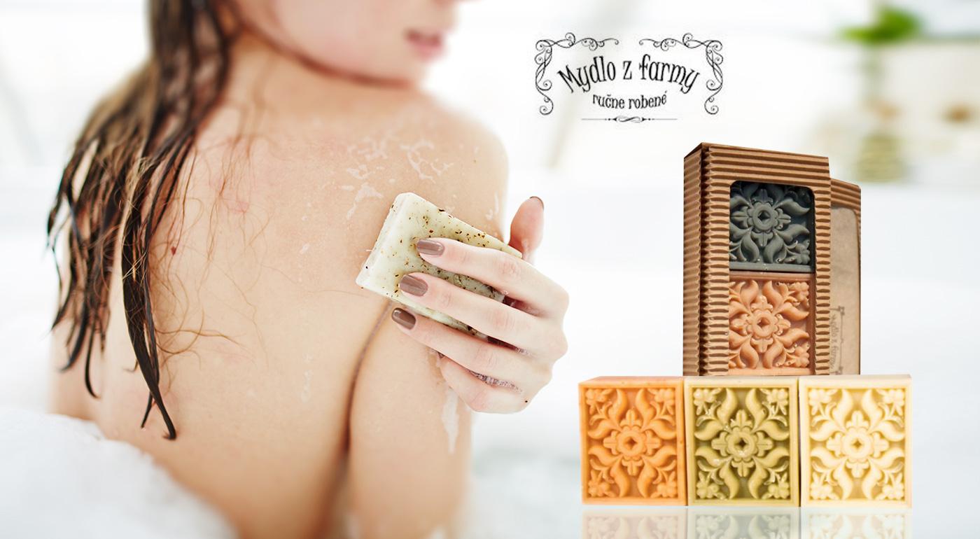 Voňavý darček - dekoratívne mydlo Antik vyrobené na Slovensku