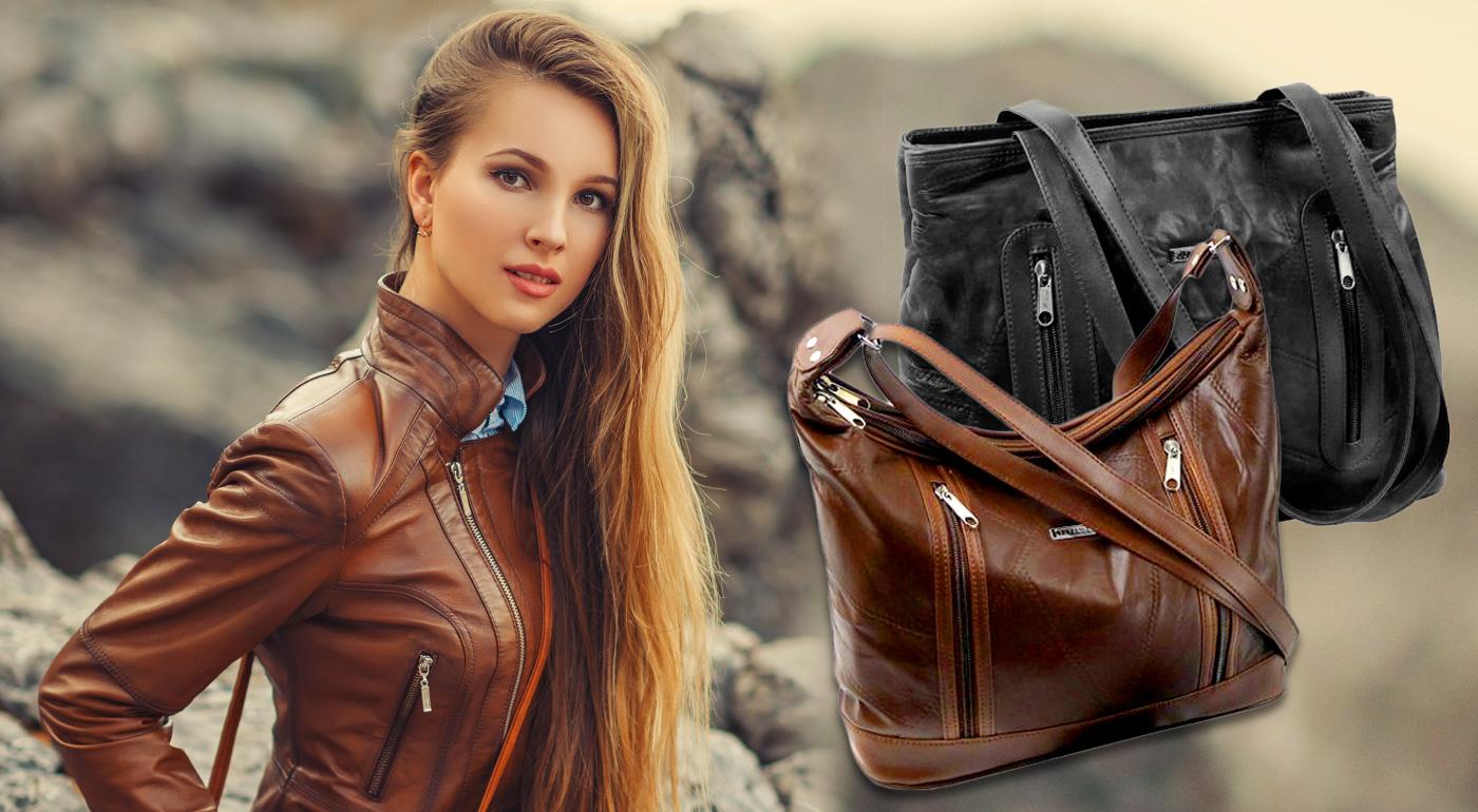 Elegantné a nadčasové kožené kabelky Guido Banini