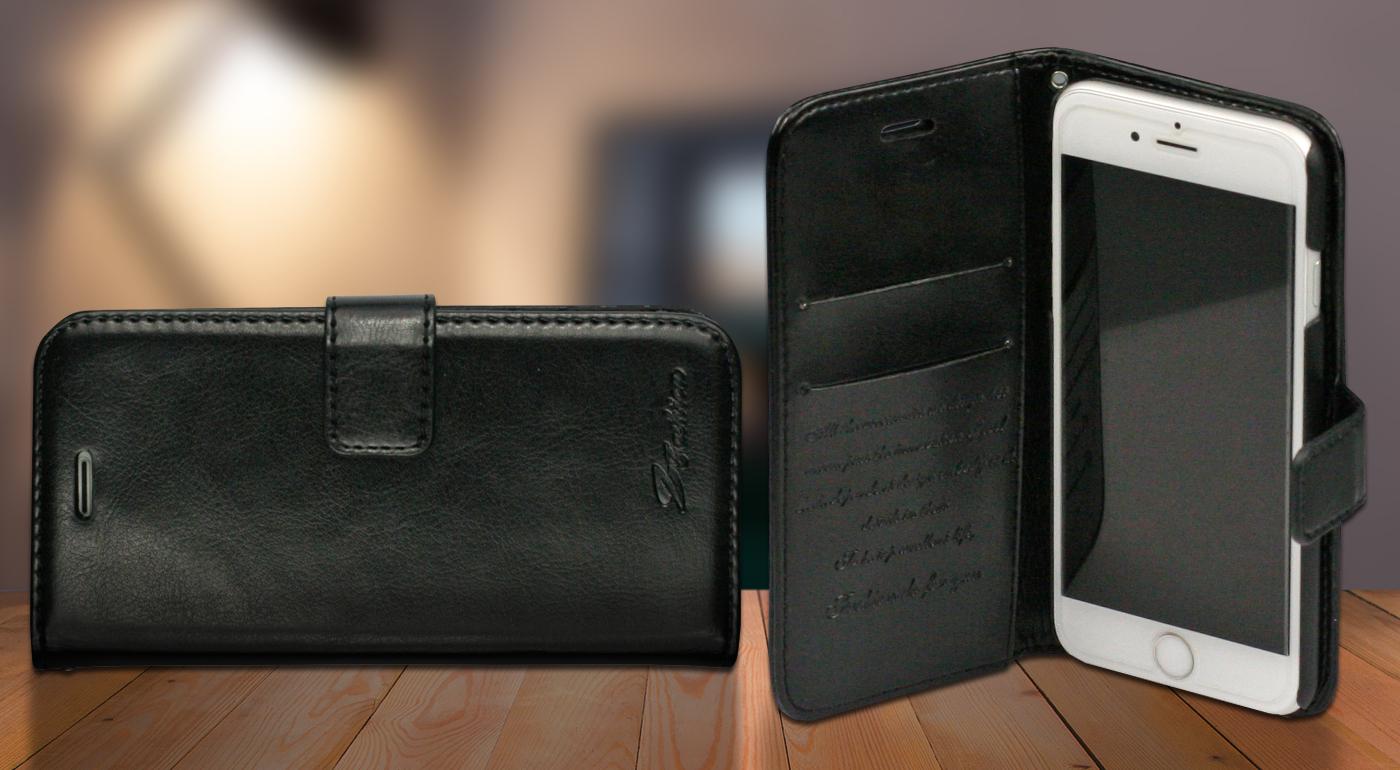 Elegantný kožený obal na iPhone 6/6s