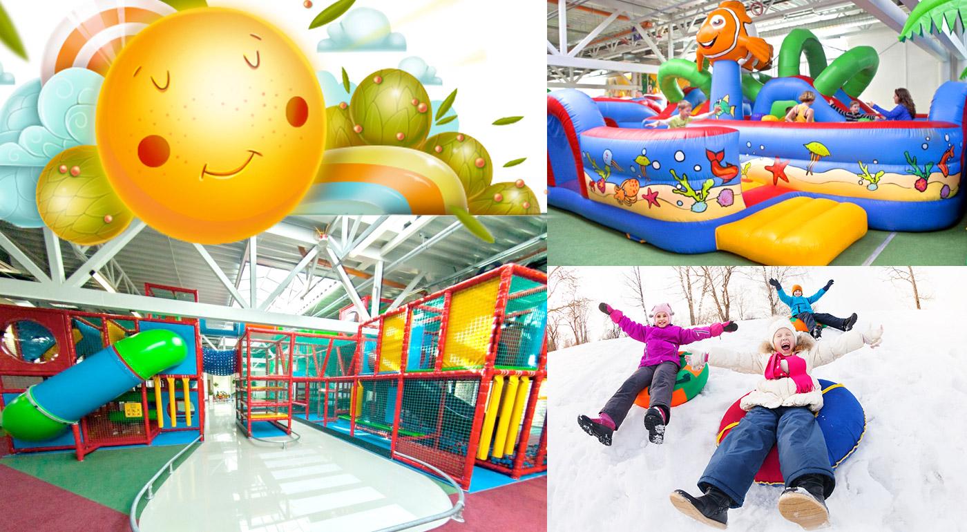 Vstup do denného detského tábora Jolly Camp vo FunCity