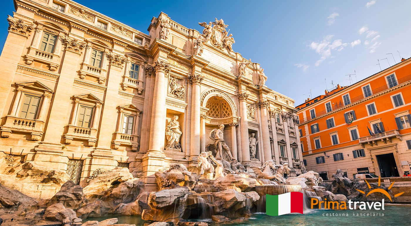 Rím a Vatikán - 5 dňový zájazd pre 1 osobu