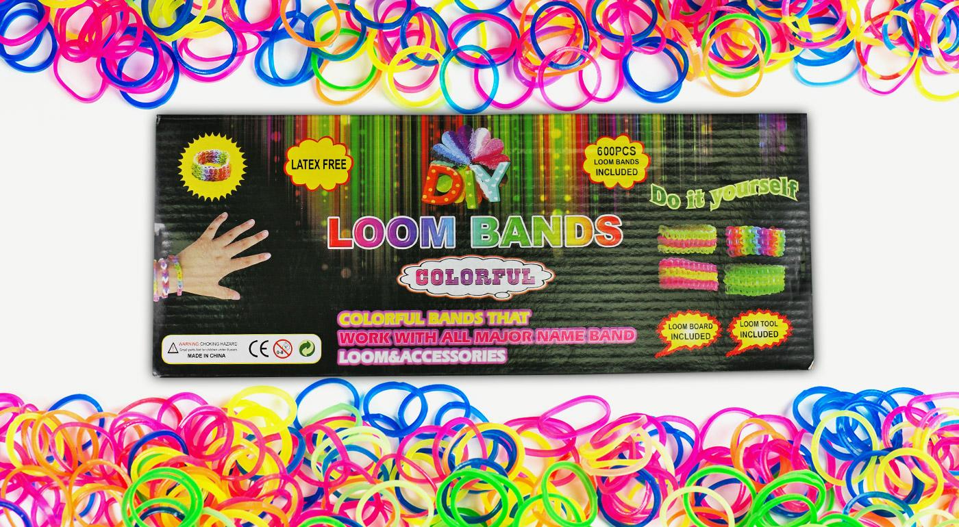 Kreatívny oddych so sadou gumičiek Loom Bands