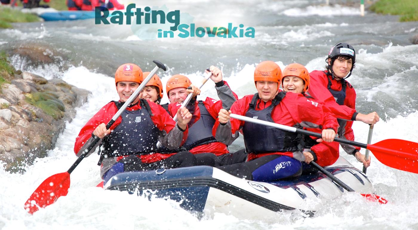 Rafting na umelom kanáli v Liptovskom Mikuláši alebo splav Váhu