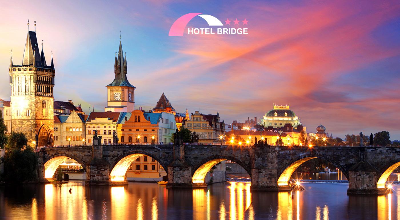 Krásne 3 dni vo dvojici v Hoteli Bridge*** v magickej Prahe
