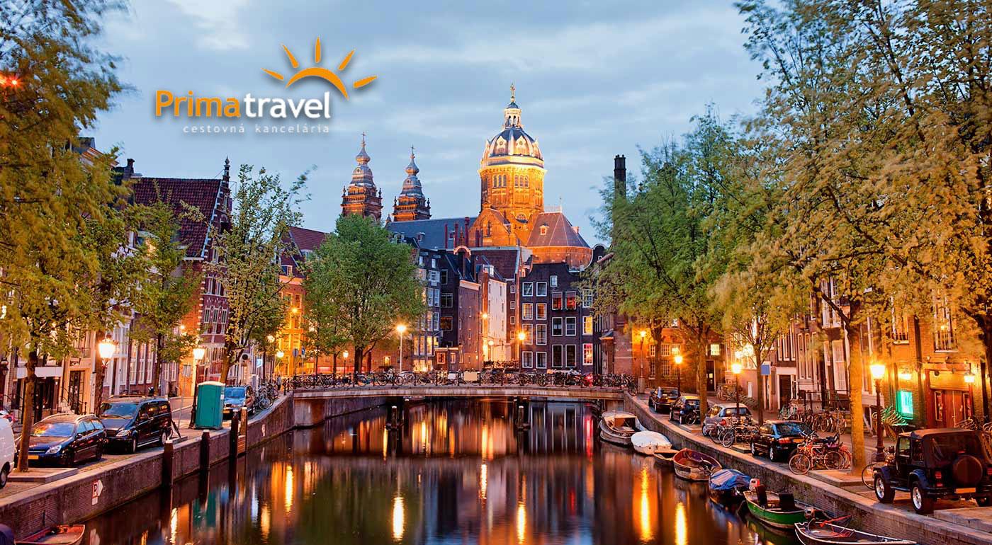 Nezabudnuteľný zájazd do Holandska s prehliadkou Amsterdamu, skanzenu Zaanse Schans a svetoznámej výstavy kvetov