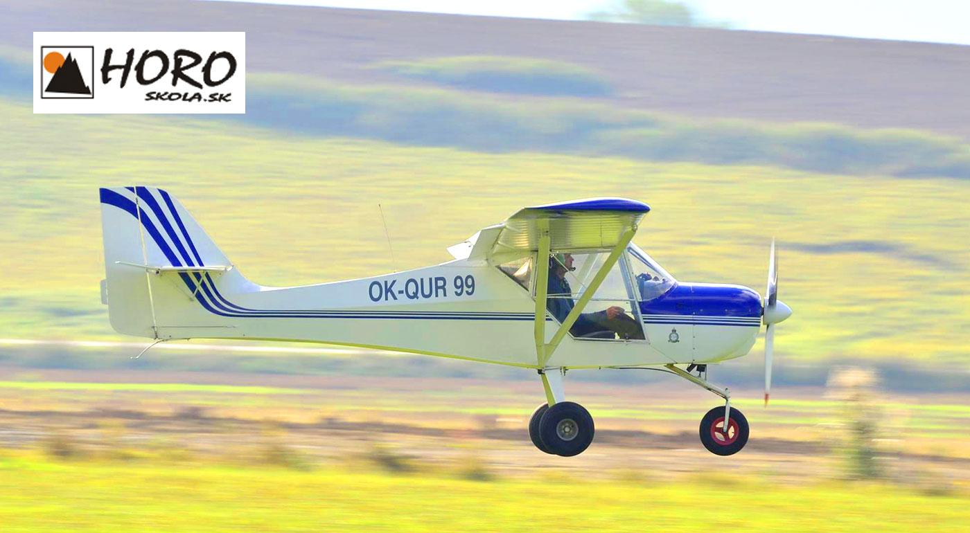 Vzrušujúci zážitok v podobe letu na športovom lietadle nad Liptovom