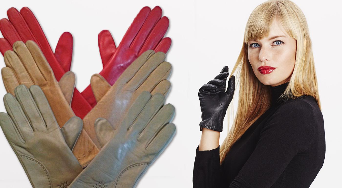 Dámske alebo pánske kožené rukavice