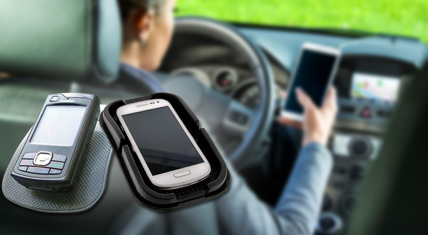 Nanopodložky do auta s priľnavým povrchom