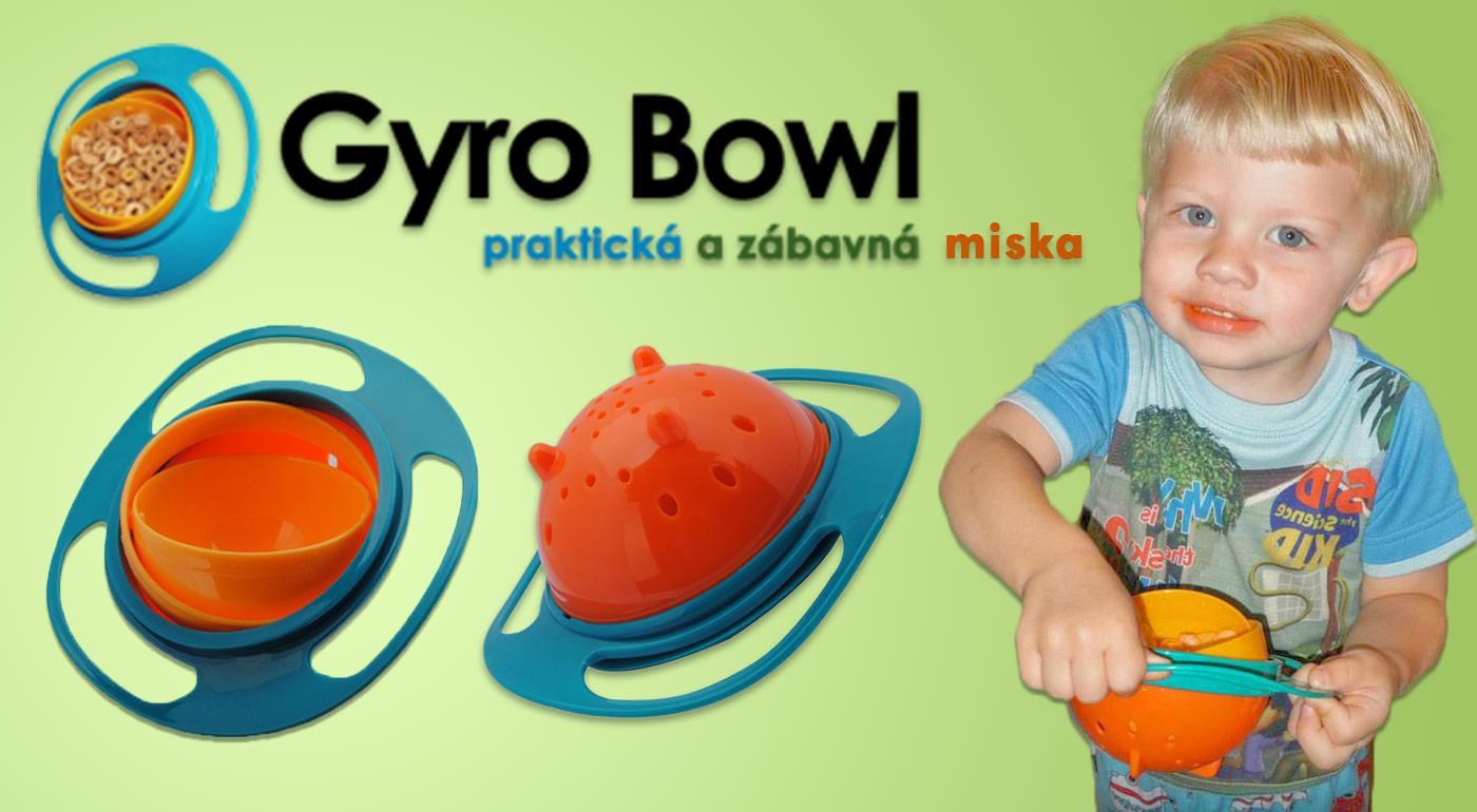 Gyro Bowl - zázračná miska, ktorá sa nikdy neprevráti a nič sa nerozsype