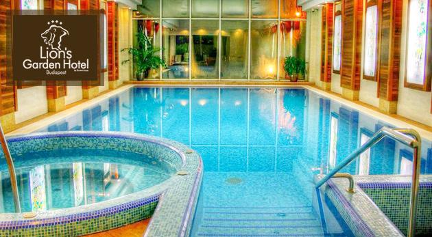 Luxusný Lion´s Garden Hotel**** v Budapešti na tri dni pre dvoch