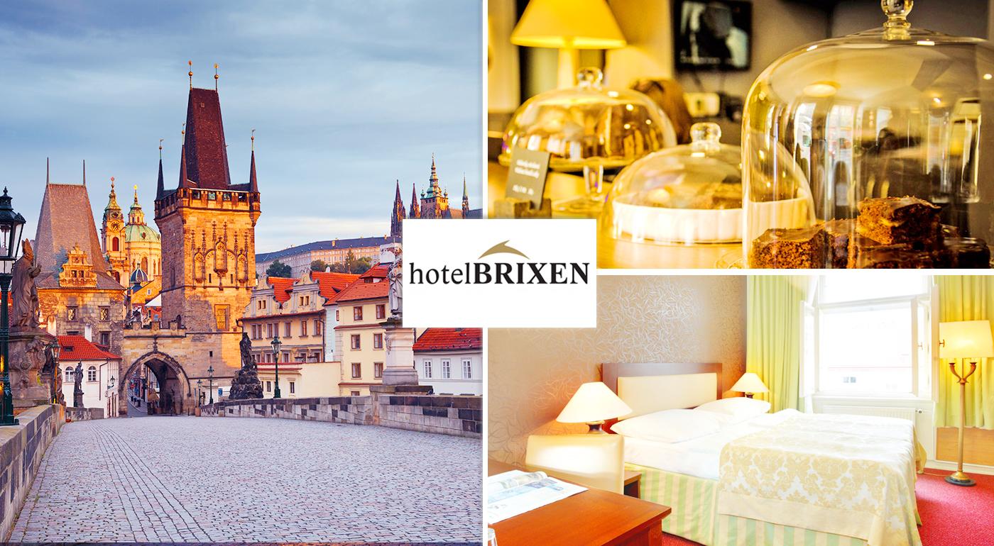 Čarovné 3 dni v Prahe v Hoteli Brixen*** blízko centra