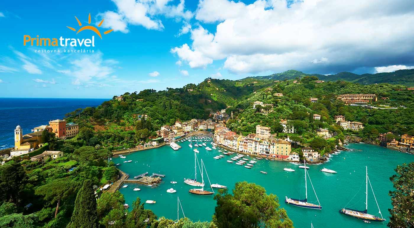 Poznávací 5-dňový zájazd k najkrajšiemu miestu Talianska - Ligúrii. Spoznajte Janov, Portofino a San Remo - mesto kvetov