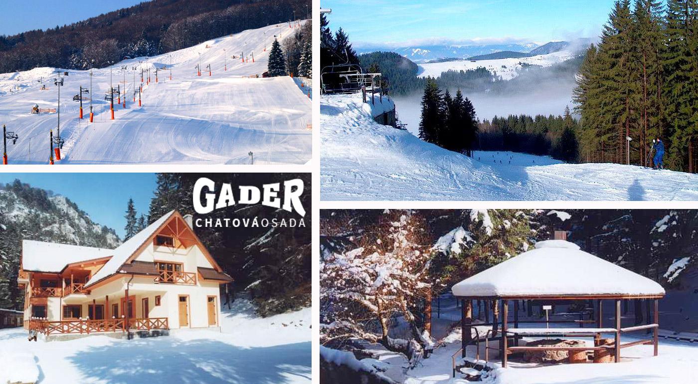Načerpajte energiu v zimnej prírode Veľkej Fatry a ubytujte sa v Chatovej osade Gader!