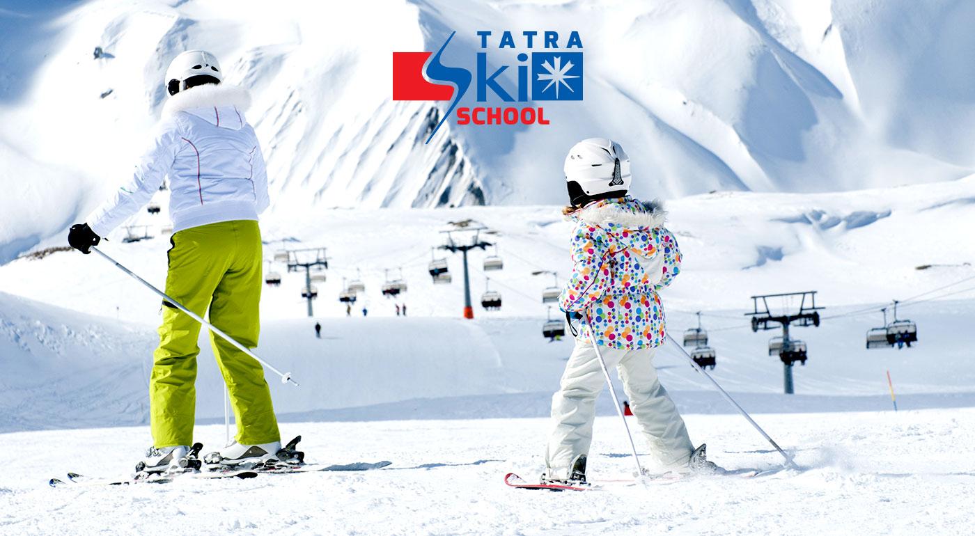 Naučte seba alebo svoje deti lyžovať či snowboardovať v lyžiarskom stredisku Štrbské Pleso