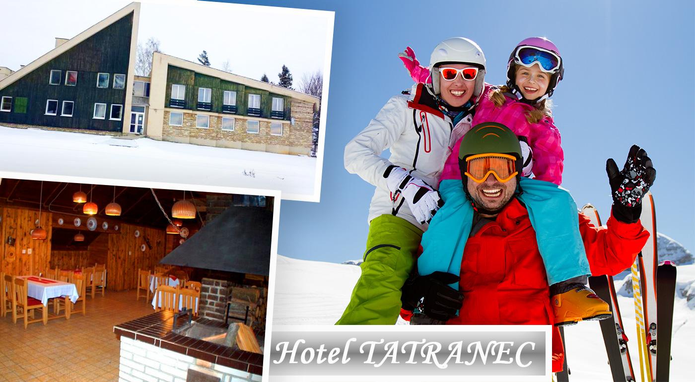 Skvelý oddych v Tatranskej Lomnici v Hoteli Tatranec s polpenziou počas 3 alebo 6 dní. K tomu dieťa do 6 rokov zadarmo!