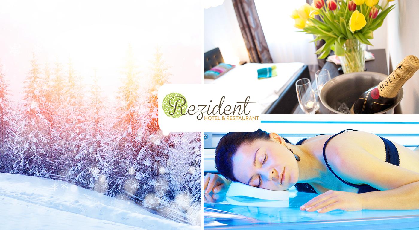 Relax ako z rozprávky v Turčianskych Tepliciach v Hoteli Rezident*** aj so vstupom do aquaparku