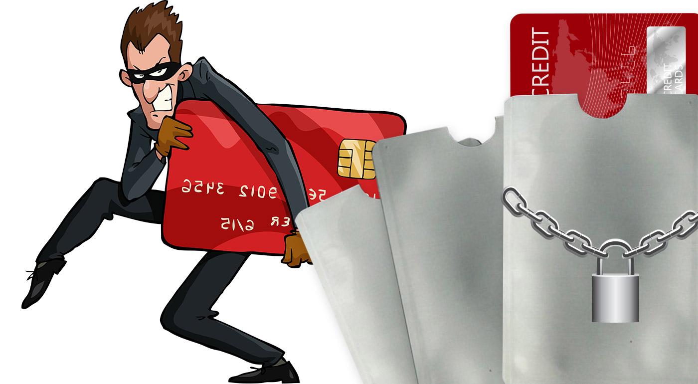 Chráňte sa pred zlodejmi - ochranný obal na bezkontaktnú bankomatovú kartu alebo puzdro na viacero kariet