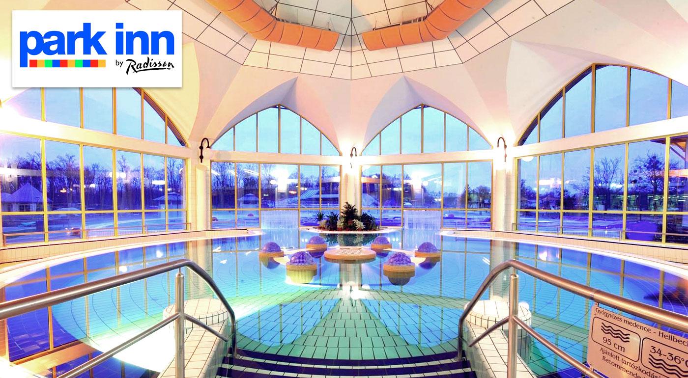 Fantastický relax v kúpeľnom hoteli Park Inn**** v maďarskom meste Sárvár s množstvom benefitov!