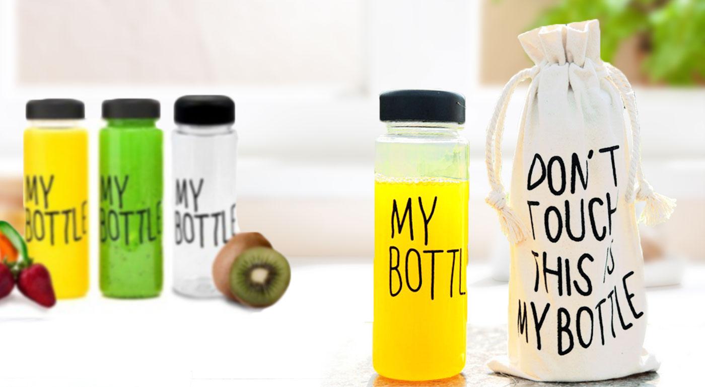 Štýlová a praktická fľaša s vrecúškom pre chladené i horúce nápoje