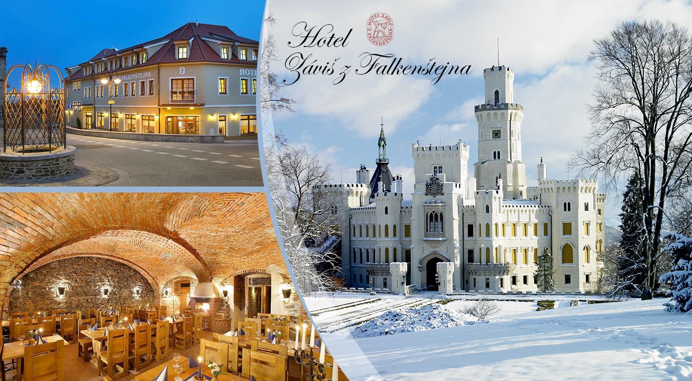 Nádherný pobyt v srdci mesta Hluboká nad Vltavou pre dvoch v Hoteli Záviš z Falkenštejna****. Deti do 6 rokov zadarmo!