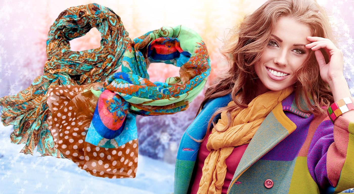 Buďte štýlová aj v zime s krásnymi, príjemnými šálmi až v 13 farbách!
