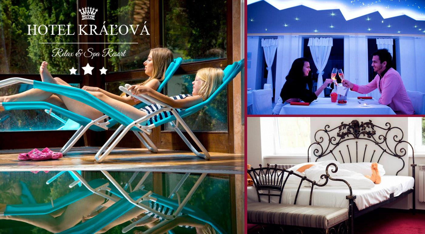 Relaxačný wellness, tradičná slovenská zabíjačka i možnosť lyžovačky v Hoteli Kráľová***. Vytúžená dovolenka pre maximalistov!