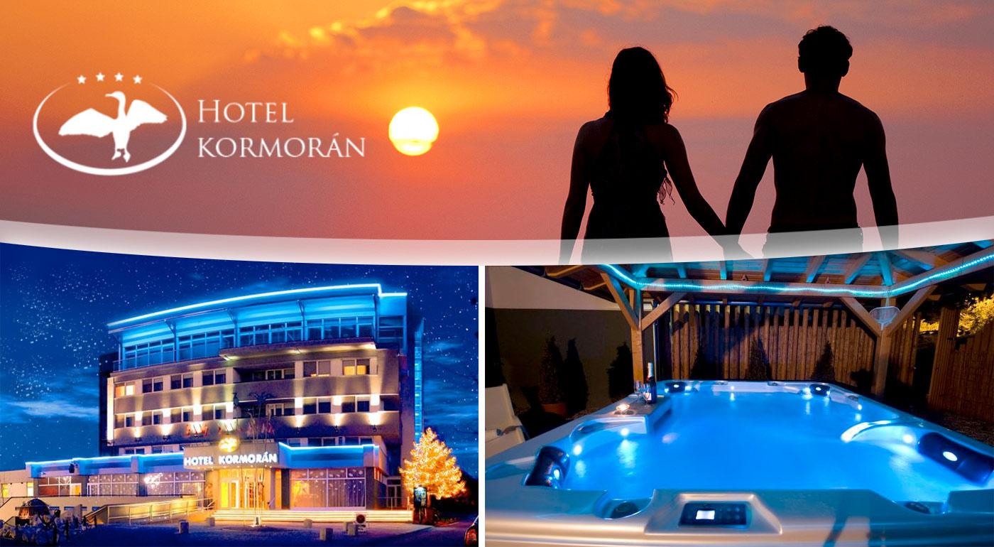 Valentínska romantika v luxusnom Hoteli Kormorán****!