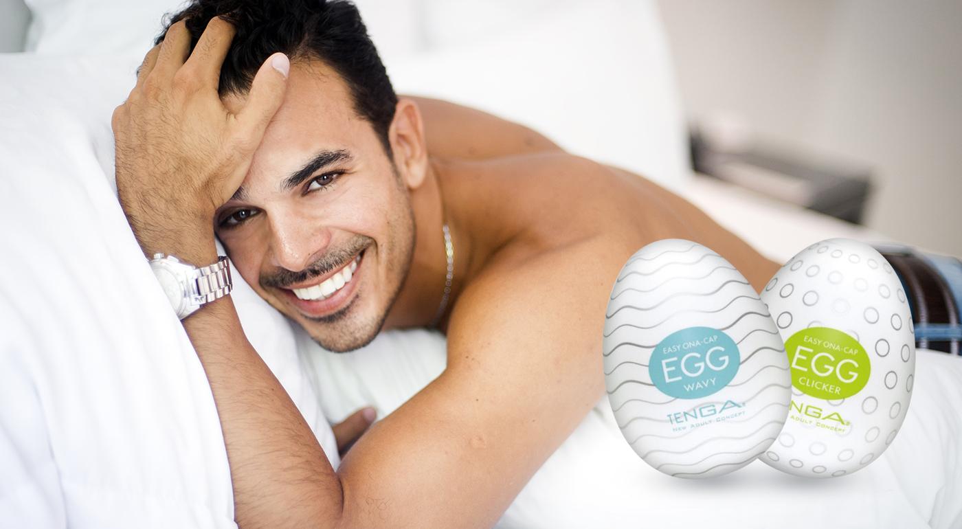 Erotická pomôcka Tenga Egg pre pánov