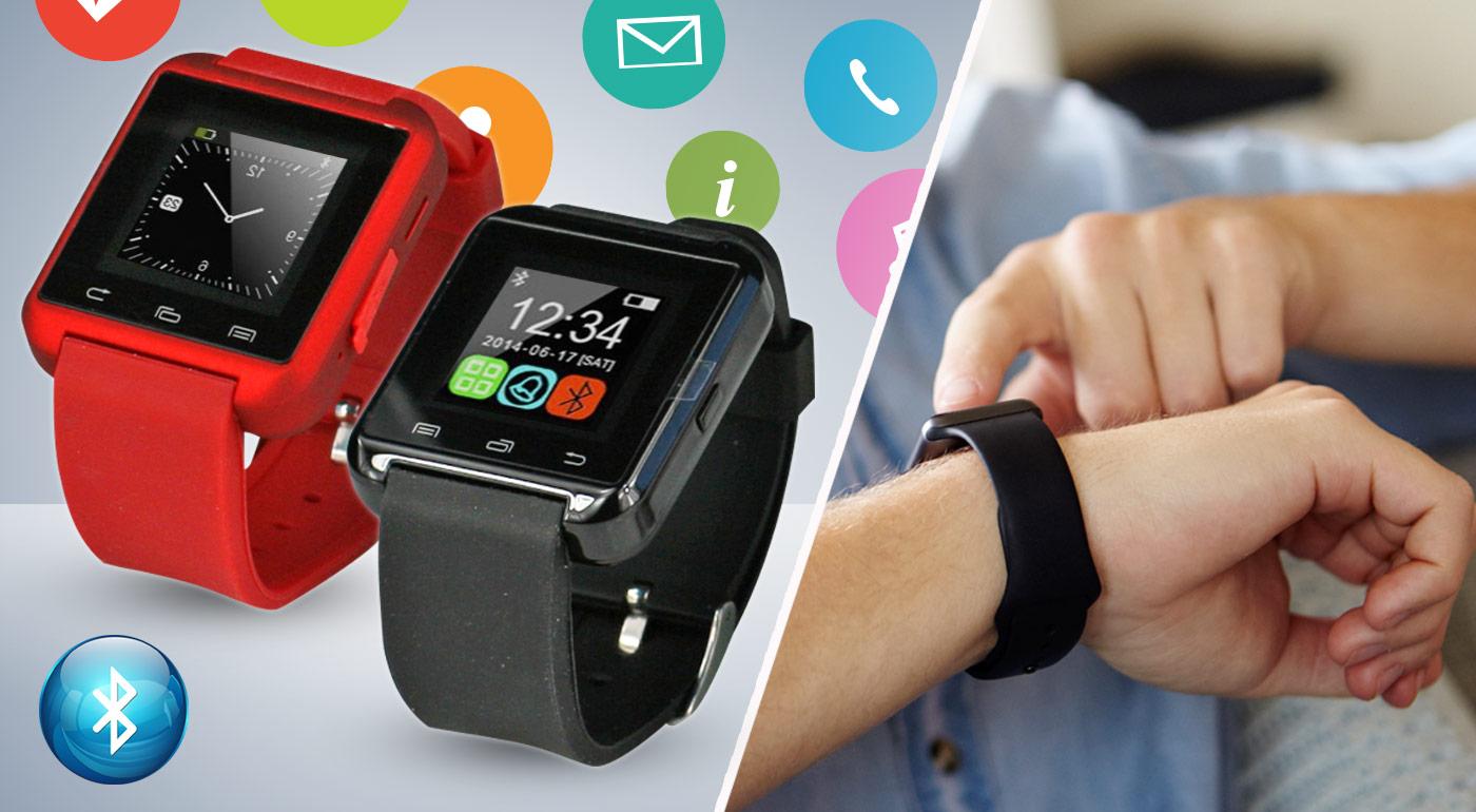 Inteligentné hodinky Smart Watch v 3 farebných prevedeniach - Myslite Smart!