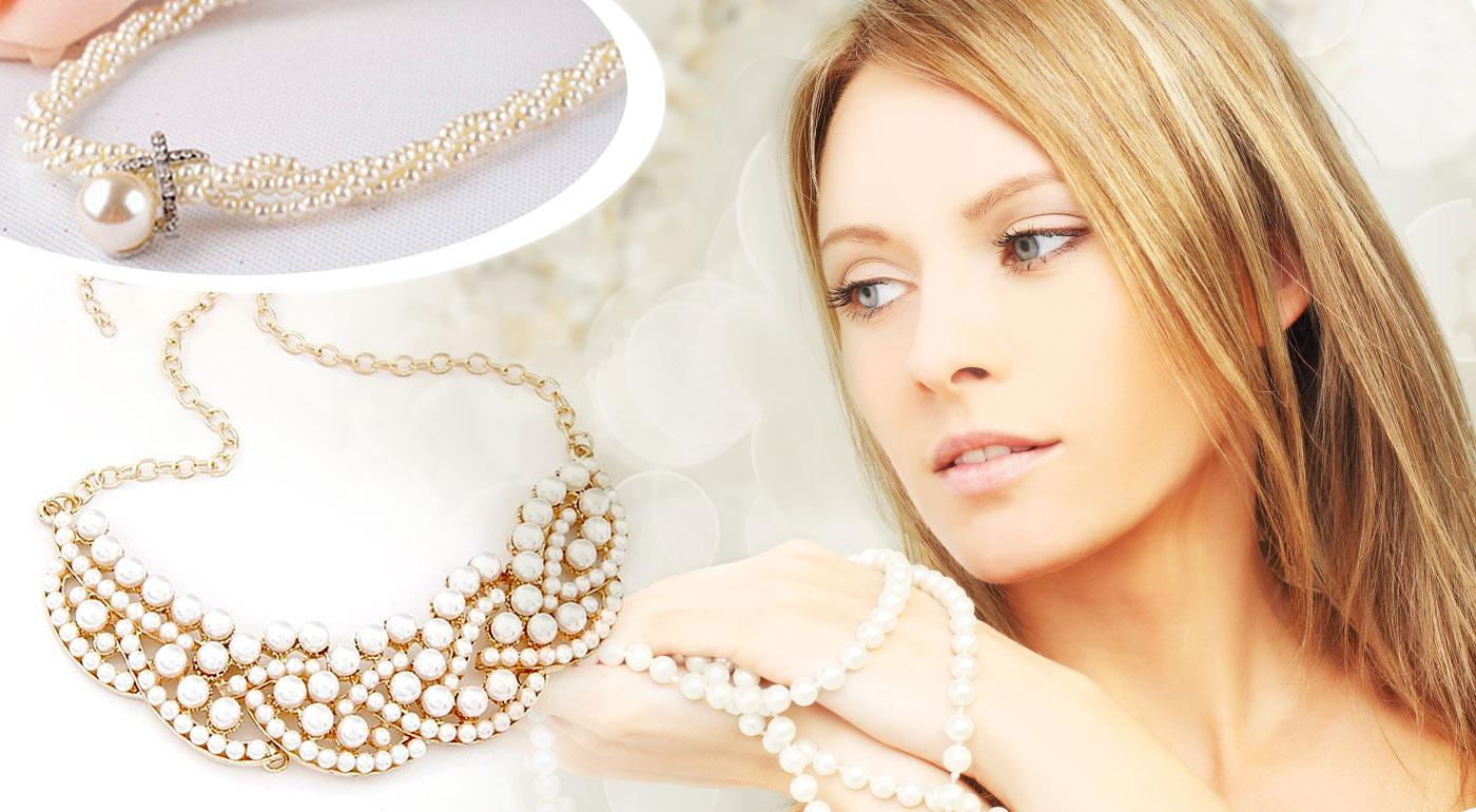 Luxusný perlový náhrdelník, ktorý sa stane perlou šperkovnice!