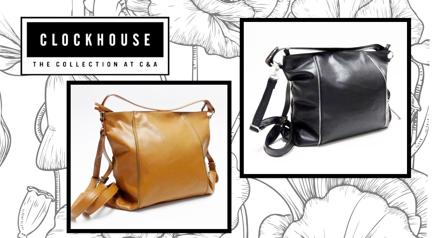 Dámske značkové kabelky ACCESSORIES CLOCKHOUSE - na výber v dvoch farbách