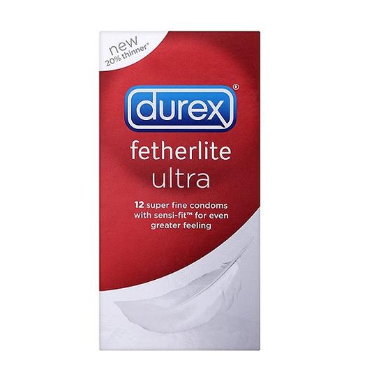 Durex Fetherlite Ultra - balíček 20 kusov kondómov
