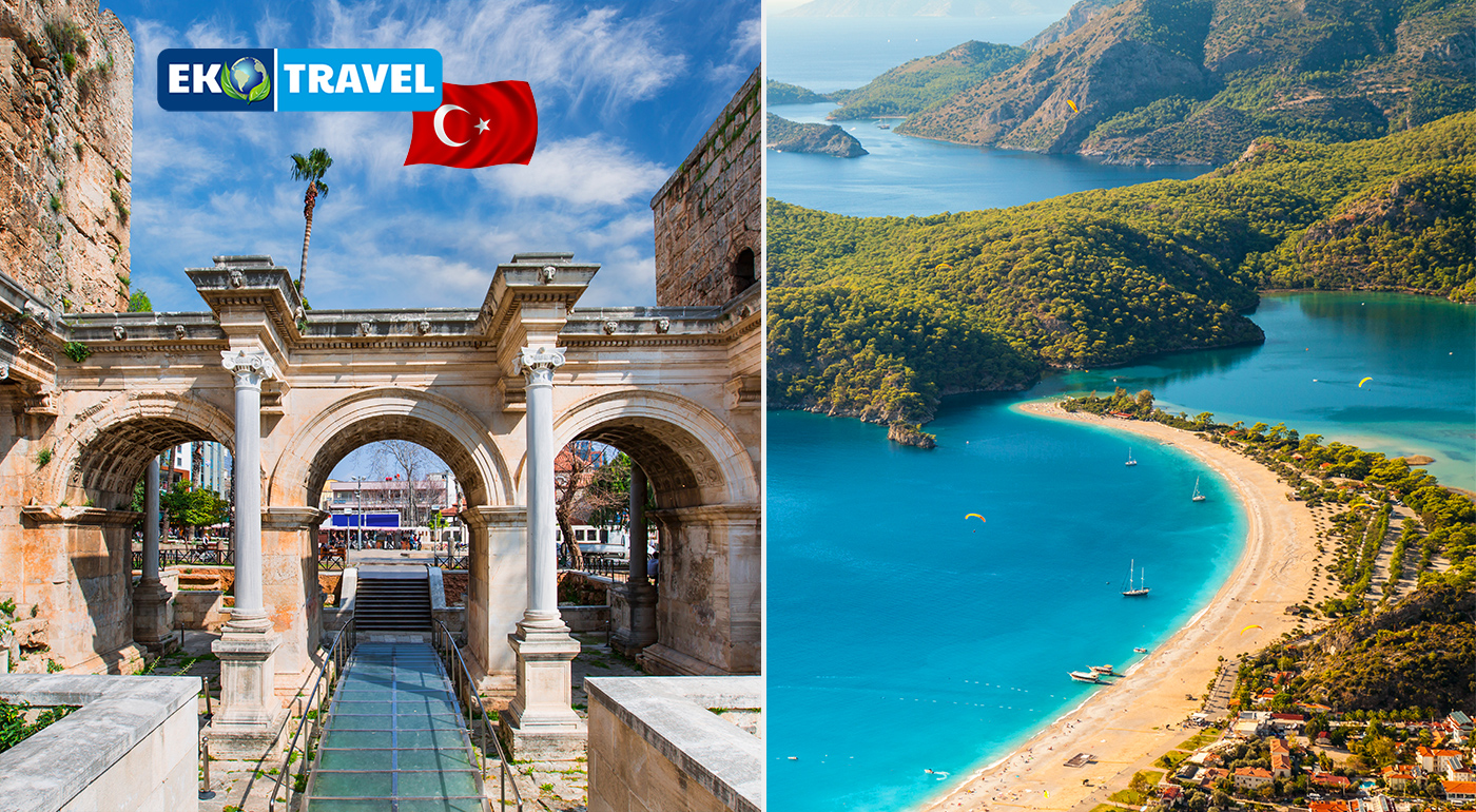 Osem dní skvelej dovolenky na Lýkijskom pobreží v Turecku. Nádherná príroda, dávna história a k tomu All inclusive a wellness!