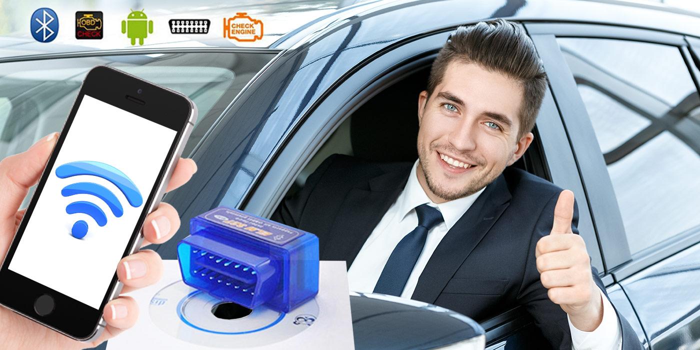 Diagnostika motora vďaka Bluetooth zariadeniu v pohodlí domova