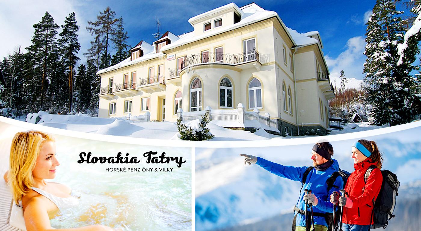 Pobyt blízko Tatranskej Lomnice na 4 dni s polpenziou