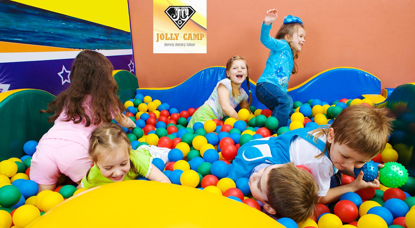 Detský tábor Jolly Camp vo FunCity - celodenná zábava pre vaše deti počas jarných prázdnin
