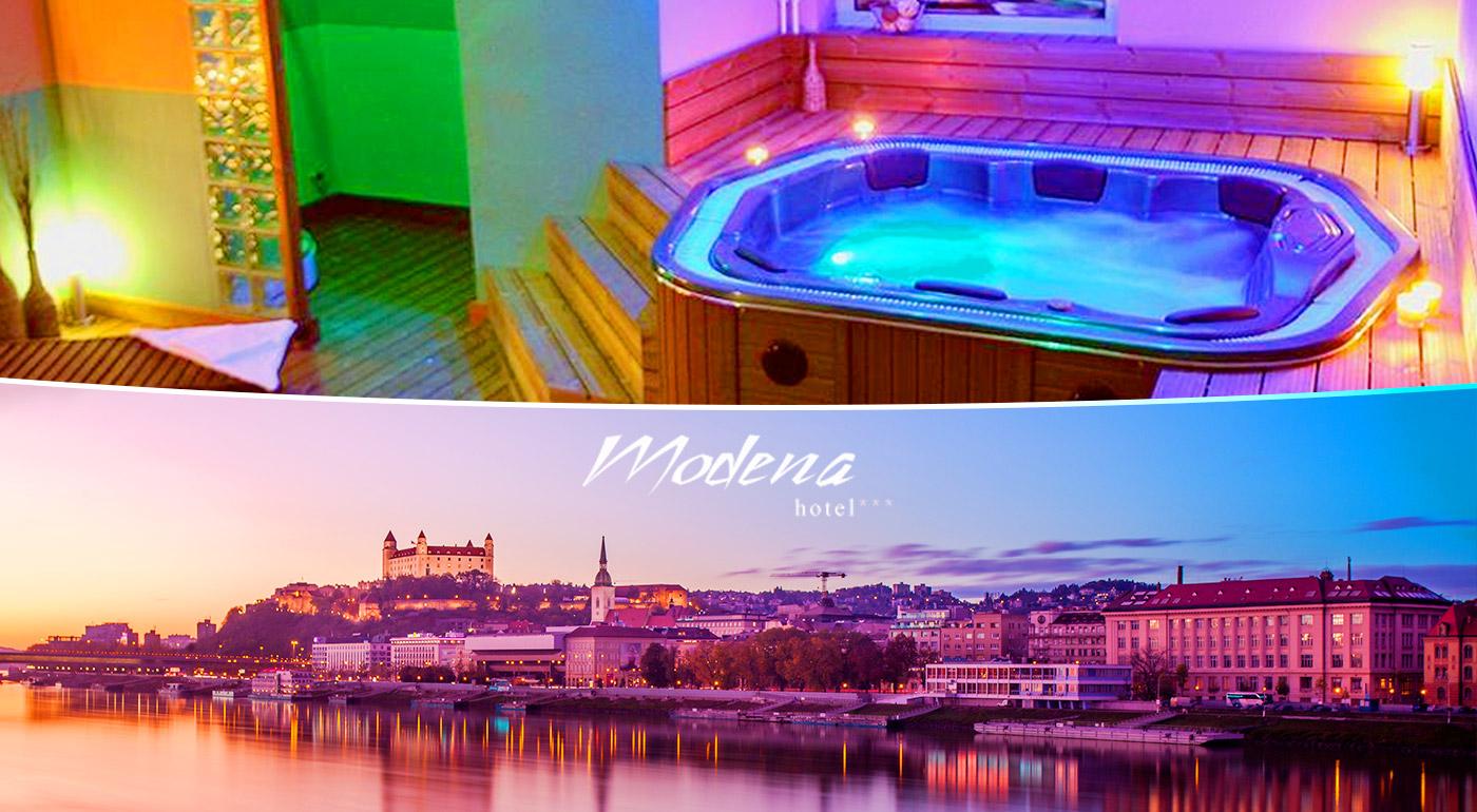 Hotel Modena *** - romantický pobyt v Bratislave s výhľadom na mesto, raňajkami, večerou a fitness!