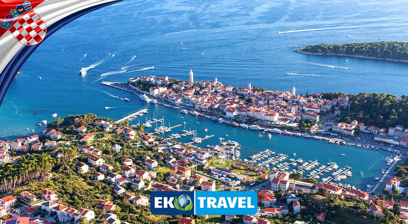 Veľkonočný 6-dňový pobyt v hoteli Grand Imperial**** na chorvátskom ostrove Rab