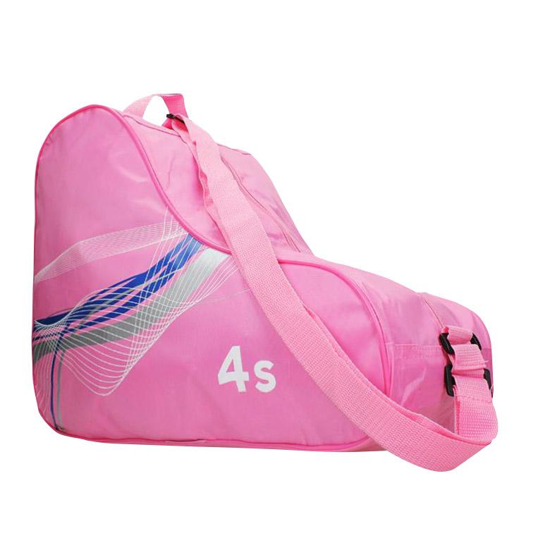 Univerzálny vak na korčule - ružový