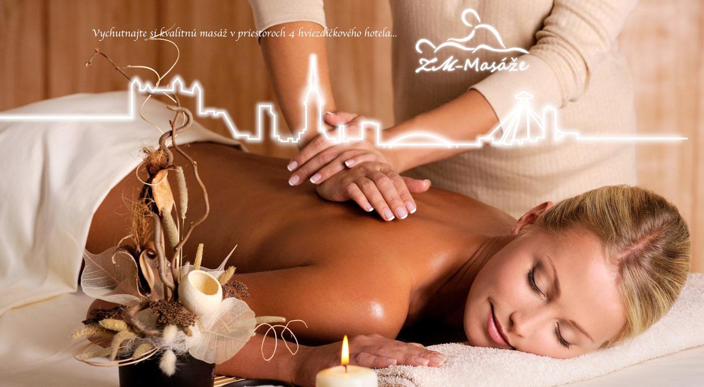 Balíček masáží pre jednotlivca alebo páry v Hoteli Bratislava****