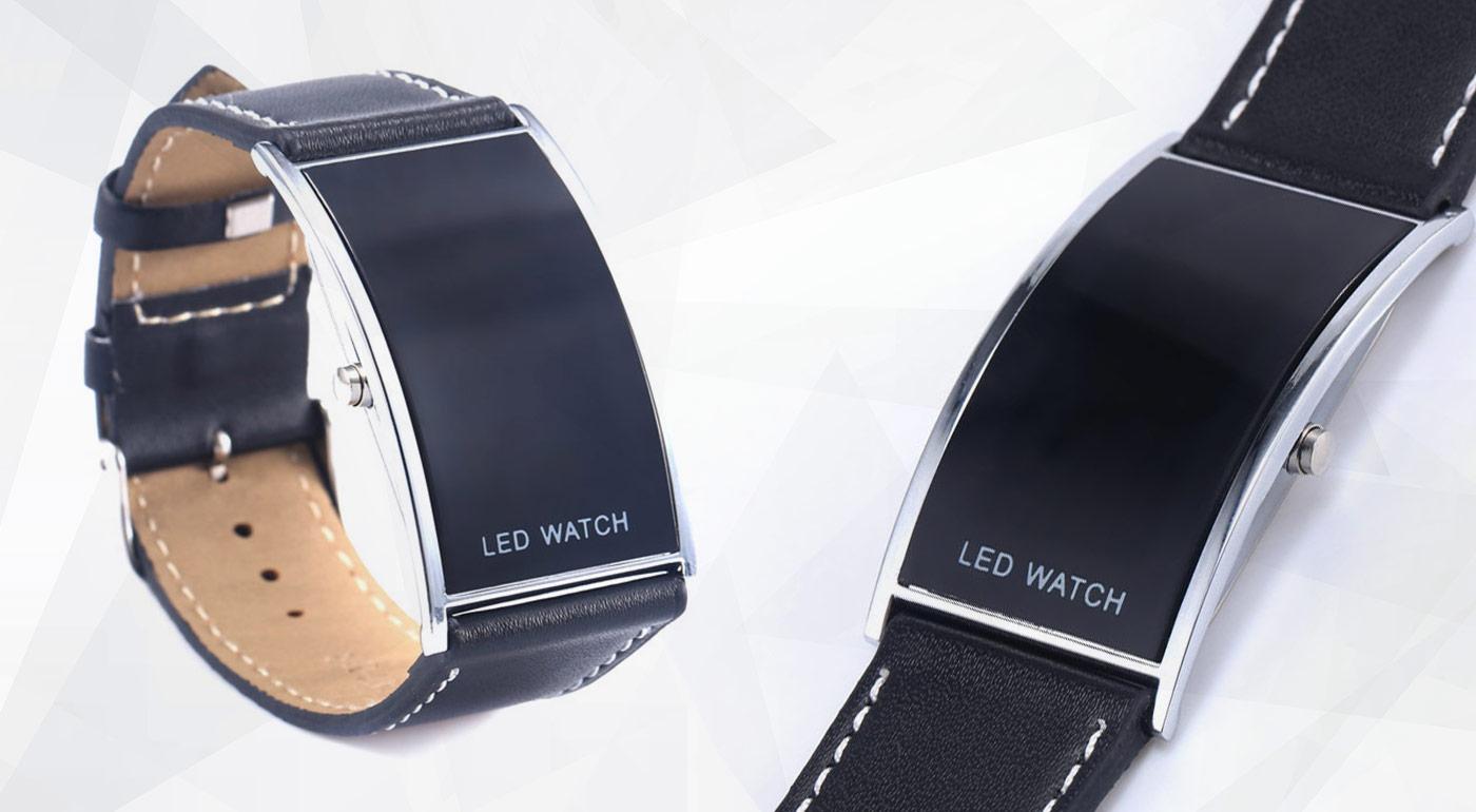 Digitálne LED hodinky na každú pánsku ruku ef59a42e96b