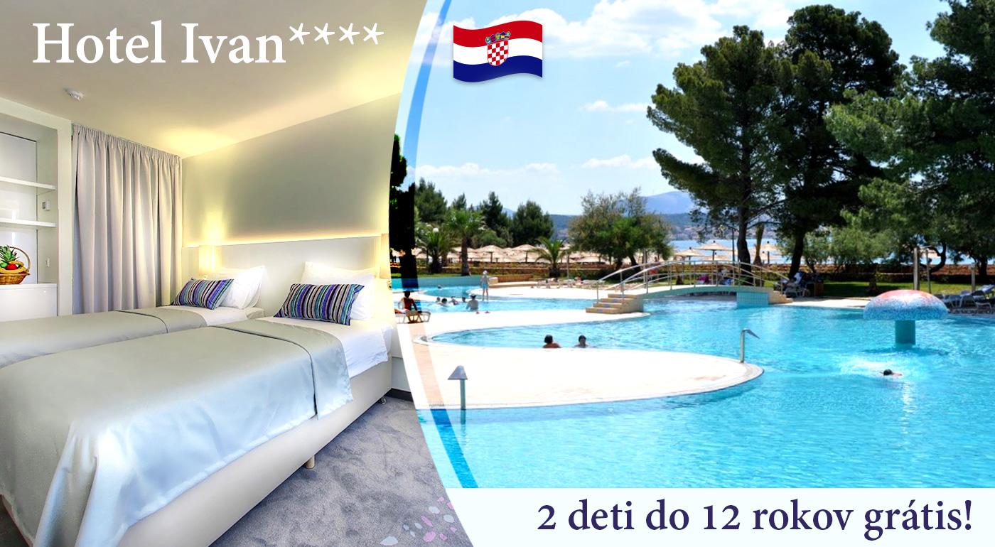 Nezabudnuteľný pobyt v Chorvátsku aj počas Veľkej noci v luxusnom Hoteli Ivan****+